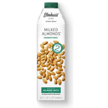 Elmhurst Unsweetened Milked Almonds