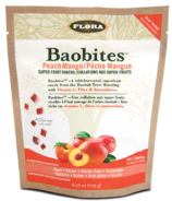 Flora Baobites Super Fruit Snacks Peach Mango