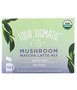 Four Sigmatic Matcha Latte with Maitake