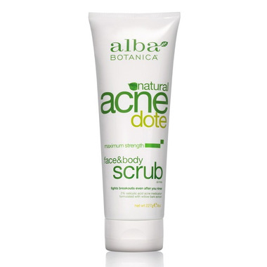 Alba Botanica Natural ACNEdote Face & Body Scrub