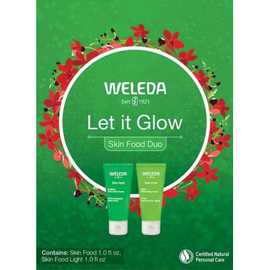 Weleda Let it Glow Skin Food Duo