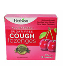 Herbion Sugar Free Cherry Cough Lozenges
