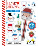 Make Believe Ideas I Love Christmas Activity Book