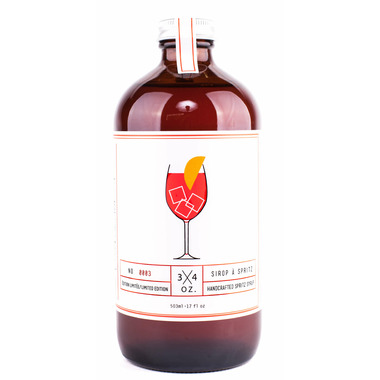 3/4 OZ. Spritz Syrup