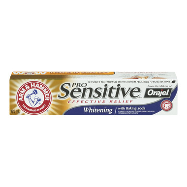 Arm & Hammer Pro Sensitive Whitening Paste