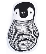 Wee Gallery Nursery Friends Throw Pillow Penguin
