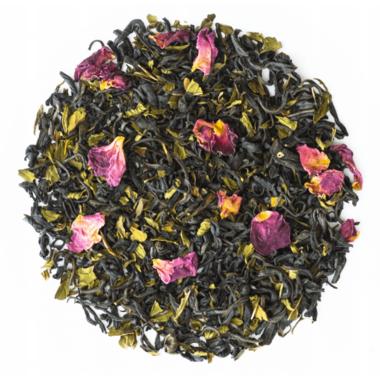 JusTea Purple Pyramid Tea Bags Purple Mint