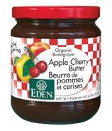 Beurre à tartiner pomme-cerise Eden Organic