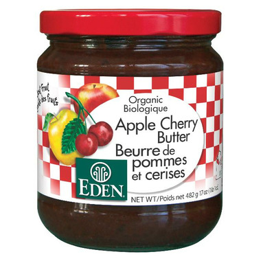 Eden Organic Apple Cherry Butter Spread