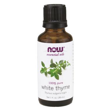 NOW Essential Oils White Thyme Oil