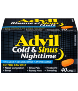 Advil Cold & Sinus Nighttime Caplets