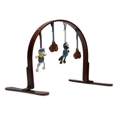 Finn & Emma Natural Dark Wood Playgym Viking