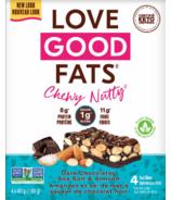 Love Good Fats Chewy Nutty Dark Chocolate à saveur de sel de mer et d'amande