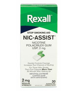 Rexall Nic-Assist Nicotine Gum Extra Strength 2 mg Menthol Extreme