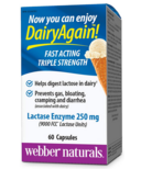 Webber Naturals Lactase Enzyme Extra Strength