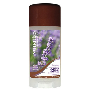 NUTRIdeo by Terra Naturals Lavender Natural Deodorant