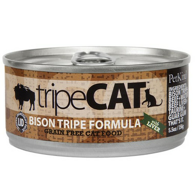 PetKind tripeCAT Bison Tripe Canned Cat Food