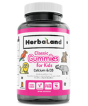 Herbaland Kid's Gummy Calcium with D3