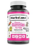 Herbaland Kid's Gummy Calcium with D3