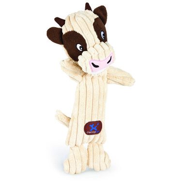 Charming Pet Products Tennis Head Cow Dog Toy