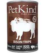 PetKind Bison Tripe Formula Natural Dog Food