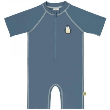 Lassig Short Sleeve Sunsuit Penguin