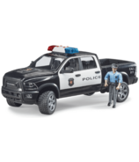 Bruder Toys RAM 2500 Police Pick Up with Policeman