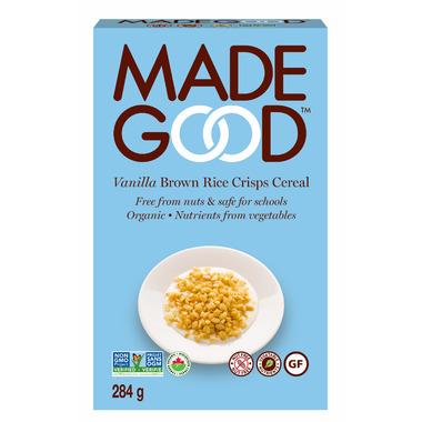 MadeGood Vanilla Brown Rice Crisps Cereal