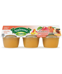 Applesnax Apple Peach Applesauce Cups