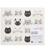 Now Designs Dish Dry Mat Cats Meow