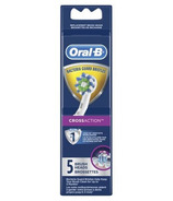 Oral-B CrossAction Electric Toothbrush Replacement Brush Heads 5 Count