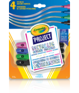 Crayola Project Metallic Outline Markers