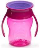 Wow Cup Baby Tritan 360 Spill-Free with Handles Pink
