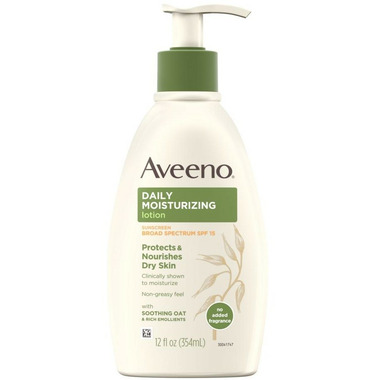 Aveeno Daily Moisturizing Body Lotion with Sunscreen SPF 15