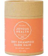 Joyous Health Natural Dry Shampoo Dark