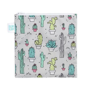 Bumkins Reusable Snack Bag Large Cactus