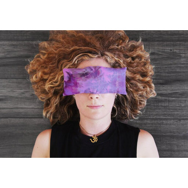 buy samyoga hand dyed lavender scented eye pillow double