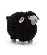 Jellycat Rolbie Sheep Black Small