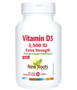 New Roots Herbal Vitamin D3 2,500 IU Extra Strength