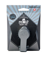 reCAP Mason Jars Pour Cap Regular Mouth in Silver