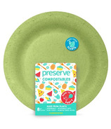 Preserve Compostables Large Plates Green