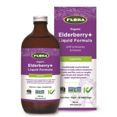 Flora Elderberry+ Liquid Formula
