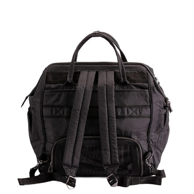Lug Via 3 In 1 Convertible Travel Bag Shimmer Black