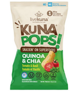 livekuna KunaPops Super Grain Snack Tomato & Basil with Probiotics