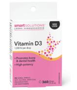 Smart Solutions Vitamin D3 Droplets