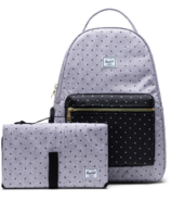 Herschel Supply Nova Sprout Grey & Black Polka Dot