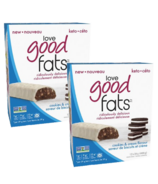 Love Good Fats Cookies & Cream Snack Bar Bundle