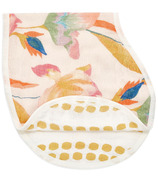 aden + anais Bamboo Silky Soft Burpy Bib Marine Gardens Floral Seaweed