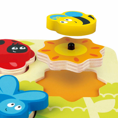 Hape Toys Dynamic Insect Puzzle