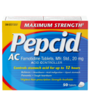 Pepcid AC Maximum Strength Tablets